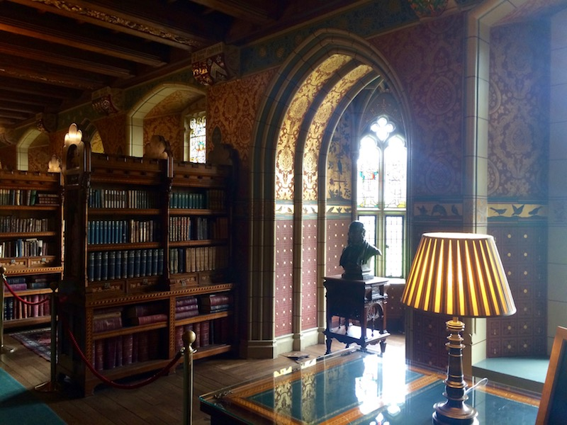 Cardiff Castle, Library